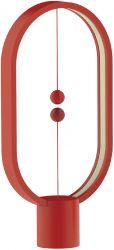 Magnetische Lamp Ellipse met USB Rood | DesignNest Heng