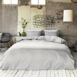 Duvet Cover Hotel Linnen | Light Grey