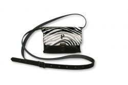 Shoulder Bag Kate Medium | Zebra White