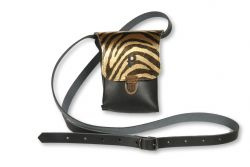 Shoulder Bag Kate Small | Zebra Gold
