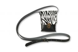 Shoulder Bag Kate Small | Zebra White