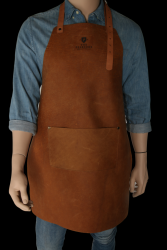 Apron with Pocket Thomas | Cognac