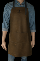 Apron with Pocket Thomas | Olive Green