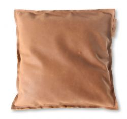 Leather Pillow Home | Dark Brown
