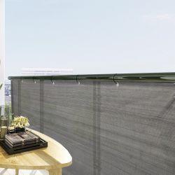 Balkonsichtschutz | Anthrazit