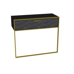 Sideboard Polka | Black / Gold