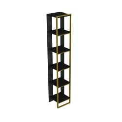 Bookshelf Polka | Black / Gold
