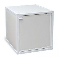 Box Storage Cube, White