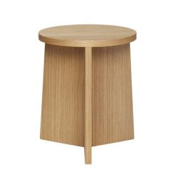 Stool Oak 42 cm | Nature