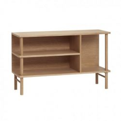 Dresser with Shelf Oak 67 cm | Nature