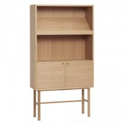 Dresser with Shelf Oak 150 cm | Nature