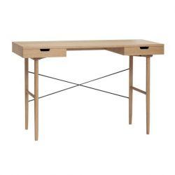 Schreibtisch mit Fächern Oak 120 cm | Natur