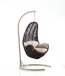 Outdoor Swing Chair | Tower | Brown