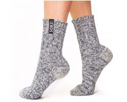 Woman's Socks Medium | Jet Black