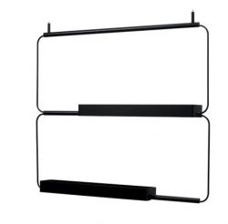 Modular Shelf Nudo L | Black