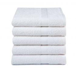 Badehandtücher 5er Set | Weiß