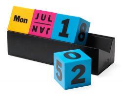 Kalender | Immerwährende Würfel CMYK