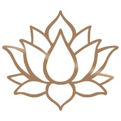 Wall Decoration Lotus Flower 1 | Copper