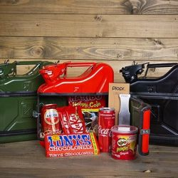 Coffret Cadeau Jerrycan Bar 5 L | Rouge
