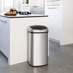 Stainless Steel Garbage Bin with Infrared