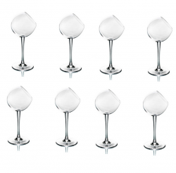 Tipsy Wine Glass | Set/8
