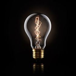 8 point filament bulb