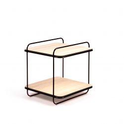 Schrank 8 Rahmen | 2 Eichen-Regale