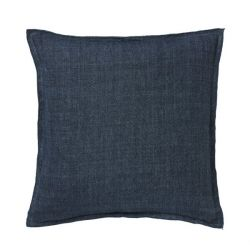 Cushion Cover Linen 50x50 cm | Midnight