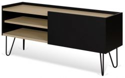 Tv Table Nina | Matt Black