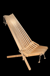 Outdoor Chair EcoChair Birch Oiled | Light Wood