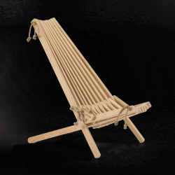Outdoor Chair EcoChair Larch | Light Wood