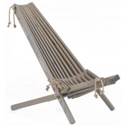 Outdoor Chair EcoChair Pine Wood | Grey