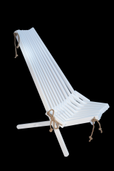 Outdoor Chair EcoChair Birch Painted | White