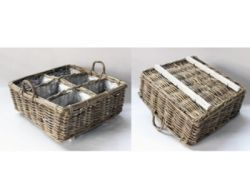 Basket Herbs Medium | Rattan