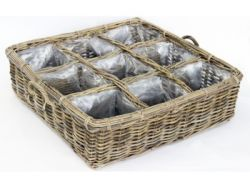 Basket Herbs Large | Rattan