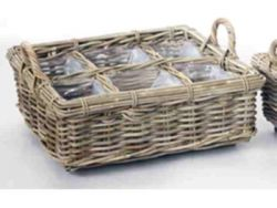 Basket Herbs Small | Rattan