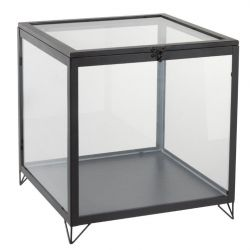 Glass box square | Black