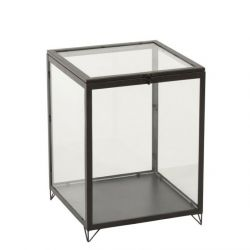 Glass box rectangular | Black