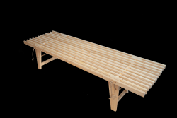 Outdoor EcoDaybed Larch | Light Wood