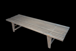 Outdoor EcoDaybed Pine Wood | Grey