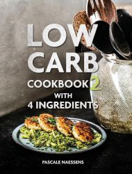 Boek Low carb cookbook with 4 ingredients 2