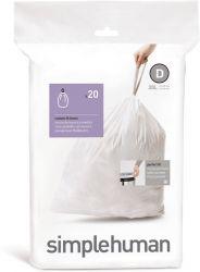 Abfallbeutel Code D   20 L   20 Stück