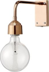 Wandlampe A | Messing