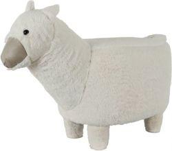 Pouf | Alpaca White