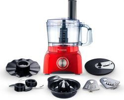 Robot Culinaire TT-FP800 + Accessoires | Rouge