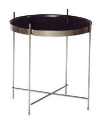 Side Table Ø 43 cm | Gun Metal