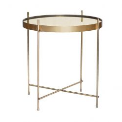 Table d'Appoint Ø 43 cm | Or