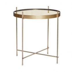 Side Table Ø 43 cm | Gold