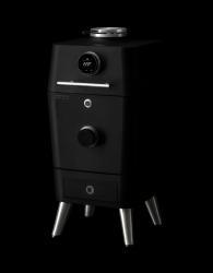 Holzkohlegrill 4K | Schwarz