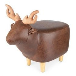 Stool Le Cerf | Brown